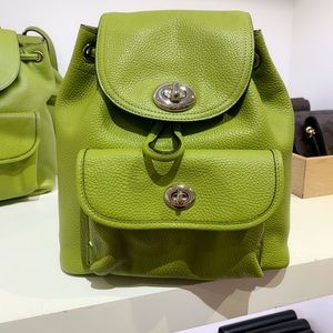🥝NWT COACH MINI TURNLOCK RUCKSACK BACKPACK🥝